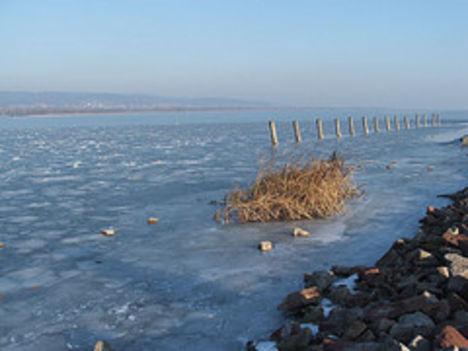 Téli, jeges Balaton 17