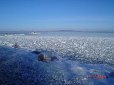 Téli, jeges Balaton 19
