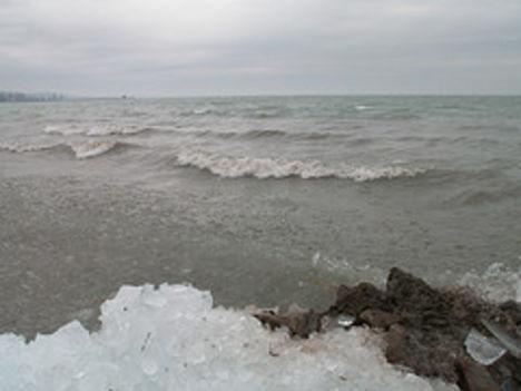 Téli, jeges Balaton 5