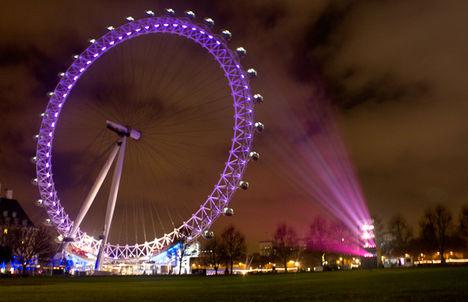 London Eye karácsonykor