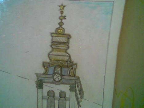A templomunk toranya , én készítettem