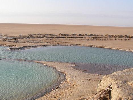 Chott El Jarid - Tunézia