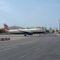 Gibraltar Airport felszállás