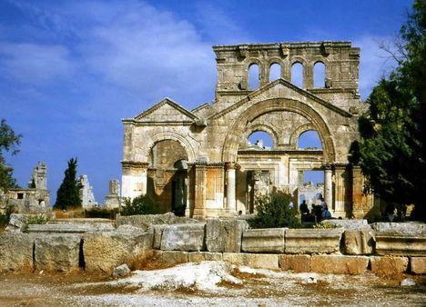 Oszlopos Simeon temploma, Szíria