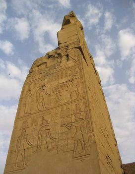 Szobek és Haroeris templomában, Kom Ombo 2