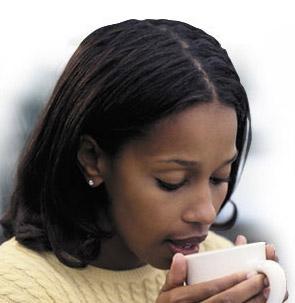 nő és kávé 4