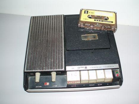 Unitra  kazettásmagnó  a  70es   évek   végéből