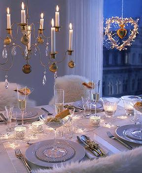 esküvői dekoráció télen