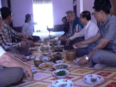hagyományos étkezés