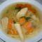 leves cikk-cakk tésztával