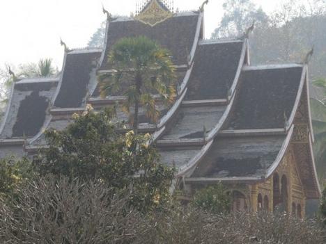 pabang Buddha szentélye kívülről