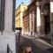 Vatikán, oldalbejárat és a Sancta Ana templom