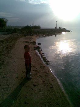 esti játék a Balaton parton