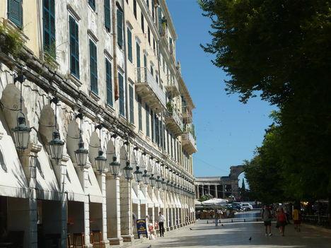 Korfu belváros