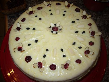 vanilia puding torta