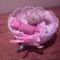 horgol tálka textil szaloncukorral 3