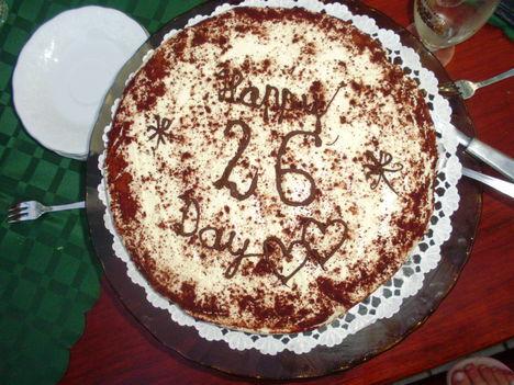 Lányom szülinapi tortája