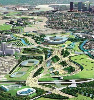 London 2012 Olimpiai Falu