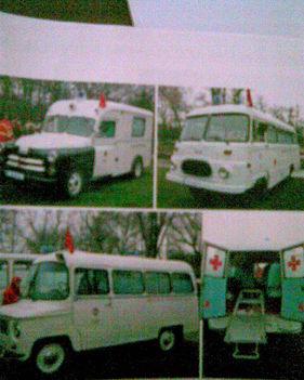 régi mentő autok