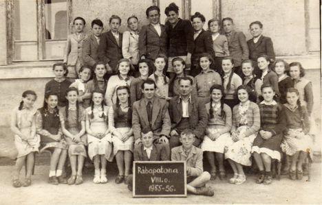 Egy régi-régi osztály 1955/56