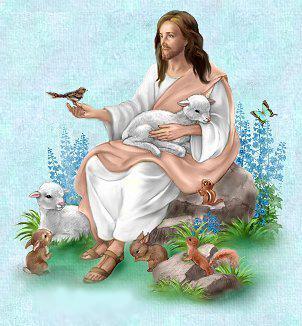 5Jézus a szeretett állatkáival
