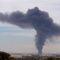 dél-afrikai vegyiüzem füstje