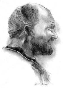 Lakatos Bertalan portre