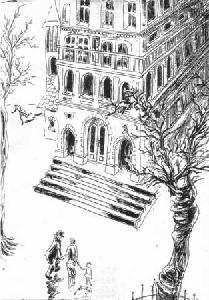 lépcsős rajz