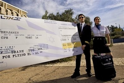 óriási El Al jegy Netanyahunak a decemberi klímakonferenciára