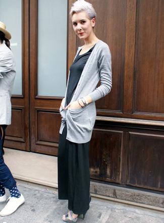 Divat  Őszi divat Párizs utcáin (kép) 60541dc3ef