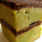 Zöld teás brownie