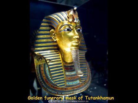 Tut-ankh-Amun aranymaszkja