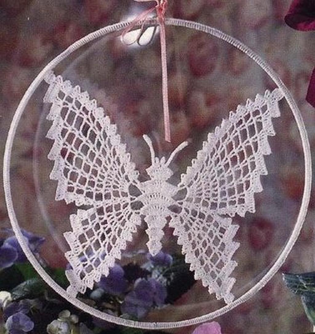 Схемы бабочек из макраме