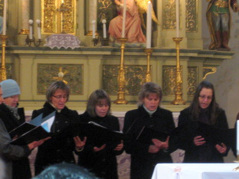 Adventi gyertyagyújtás - 2009.11.29.