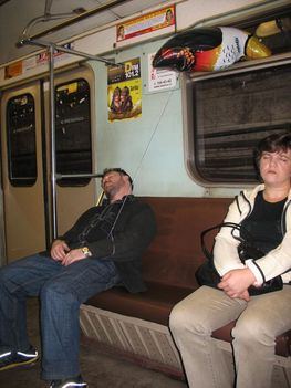 Utazás a moszkvai metróban 26