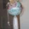 angyalkás gömb
