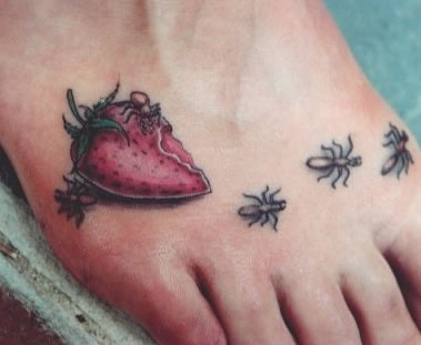 ant tattoo