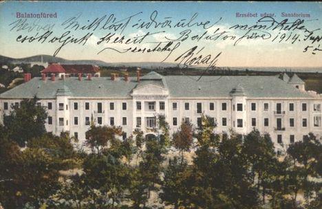 Balatonfüred Szanatórium.