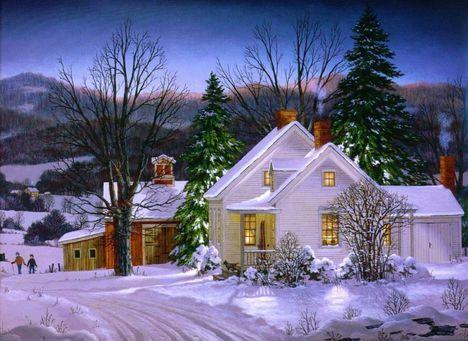 karácsony hóval