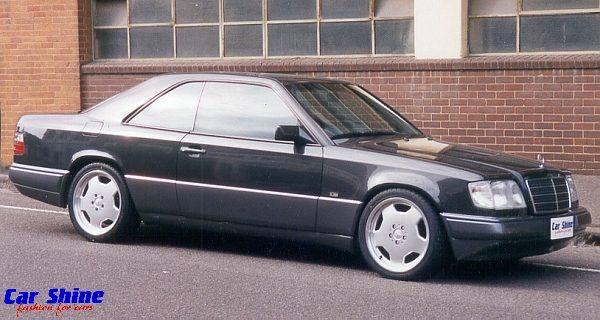 Mercedes Benz Van >> Mercedes: W124 coupe (kép)