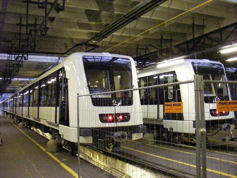 Az új metrószerelvény