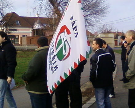 Másik zászlónk