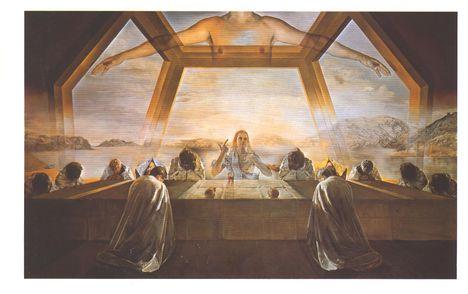 Salvador Dali: Az utolsó vacsora