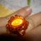 narancssárga ovális gyűrű