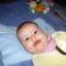 csenge első bébiétele