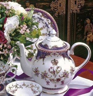 Viktória királynő teáskészlete