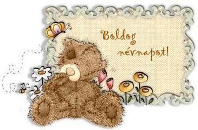 Boldog névnapot kívánok!