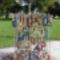 Szerelmesek lakatjai, Erzsébet tér