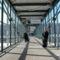 a nemzetközi repülőtér előfolyosója