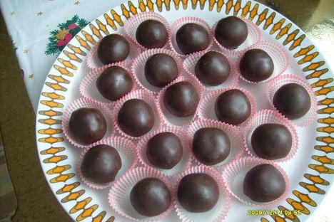 Csokis gesztenyegolyó